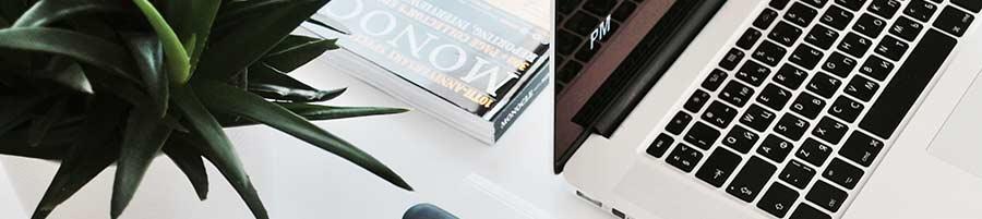 Custom Website Design begins at this desk