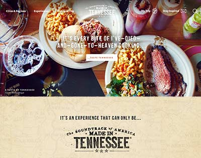 Nice websites like TN Tourism are a designer's dream.