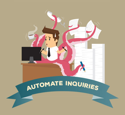 Automate your customer inquiries