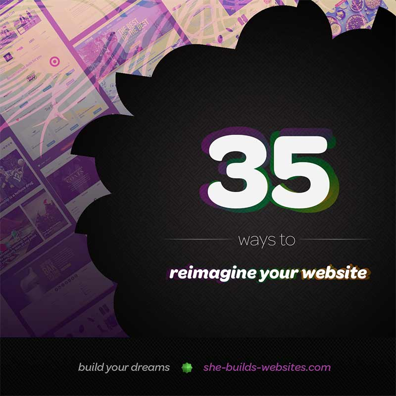 Free: 35 Ways to Reimagine Your Website