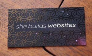 Card for She Builds Websites Scottsdale Web Design